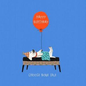 Birthday Card Cheeky Mutt