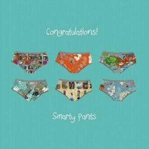 Congratulations Card Smarty Pants