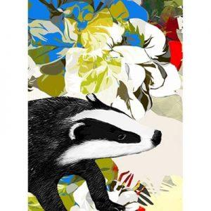 Greetings Card Badger