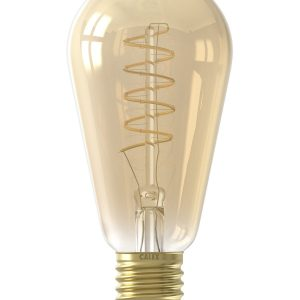 E27 LED Spiral Filament Rustic Shape Bulb Warm White