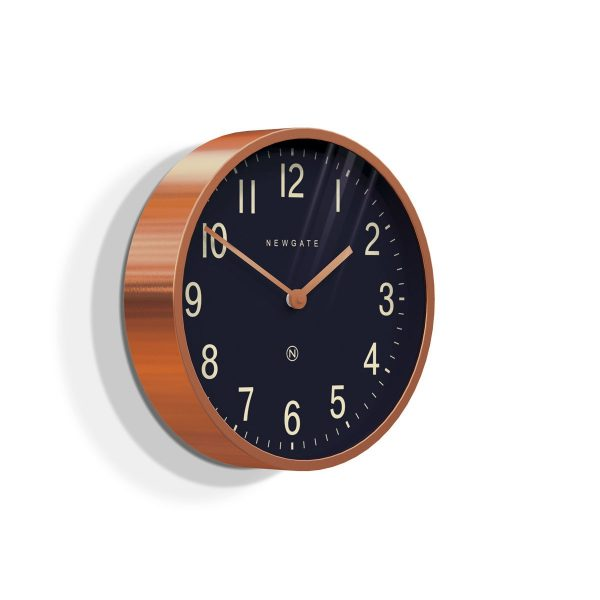 Newgate Master Edwards Copper Radial Clock