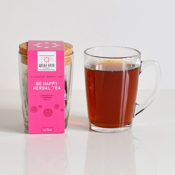 Be Happy Infusion Tea Mug