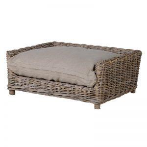 Large Kubu Rattan Dog Bed