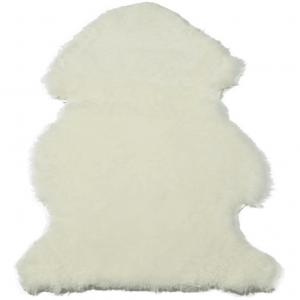 Curly Sheepskin Rug Light Oyster