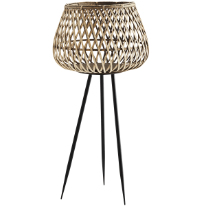 Natural Bamboo Plant Stand