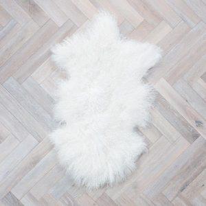 Blush Tibetan Sheepskin Rug