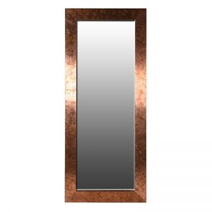 Wide Frame Copper Mirror