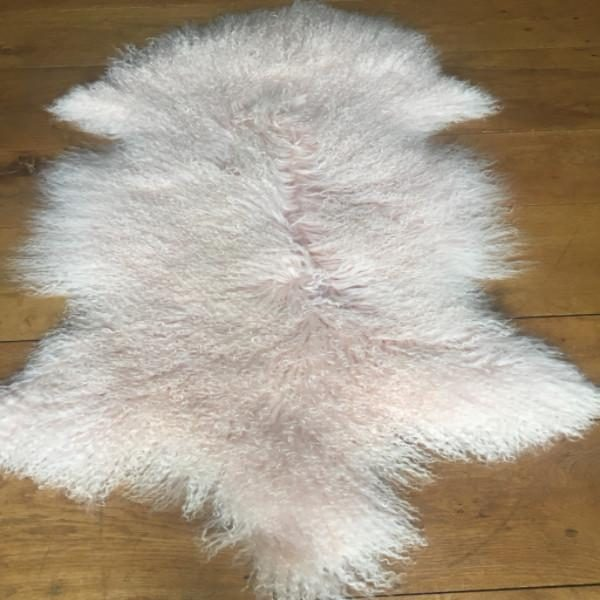 Blush Tibetan Sheepskin