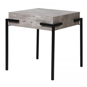 Modern Concrete Look Side Table