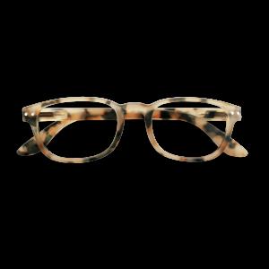 Izipizi #B Reading Glasses(Spectacles)Light Tortoise