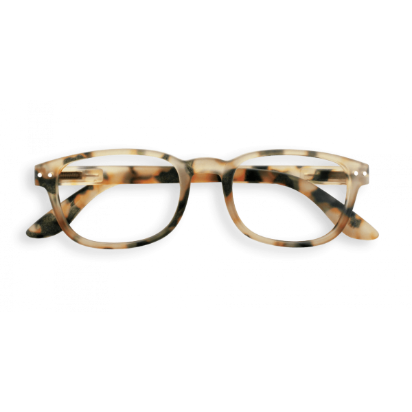 Izipizi #B Reading Glasses(Spectacles)Light Tortoise