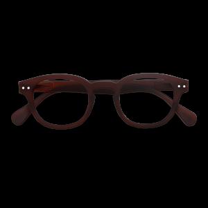 Izipizi #C Reading Glasses(Spectacles)Dark Wood