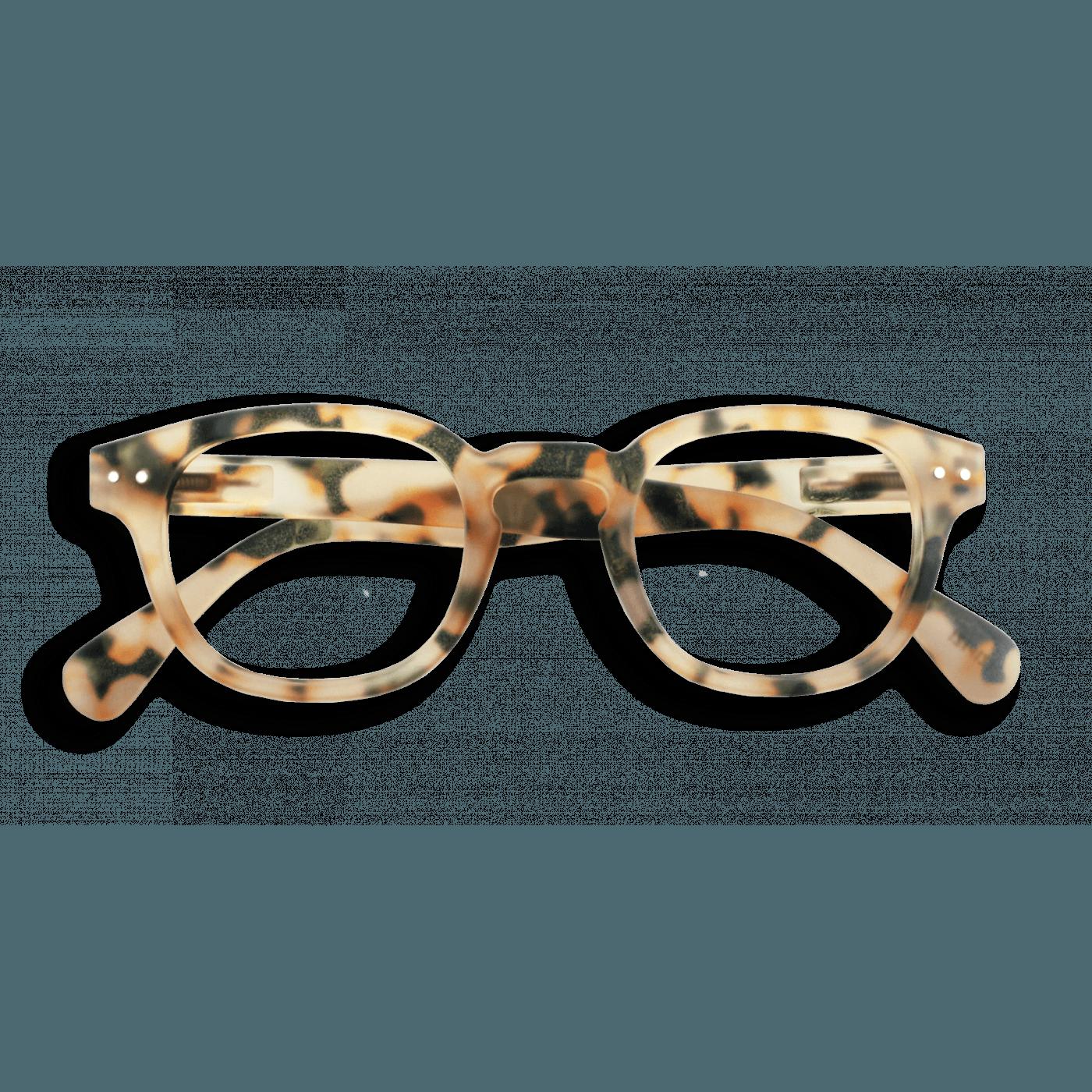 Izipizi #C Reading Glasses(Spectacles)Light Tortoise