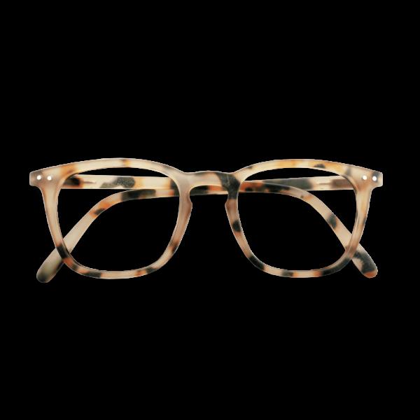 Izipizi #E Reading Glasses(Spectacles)Light Tortoise