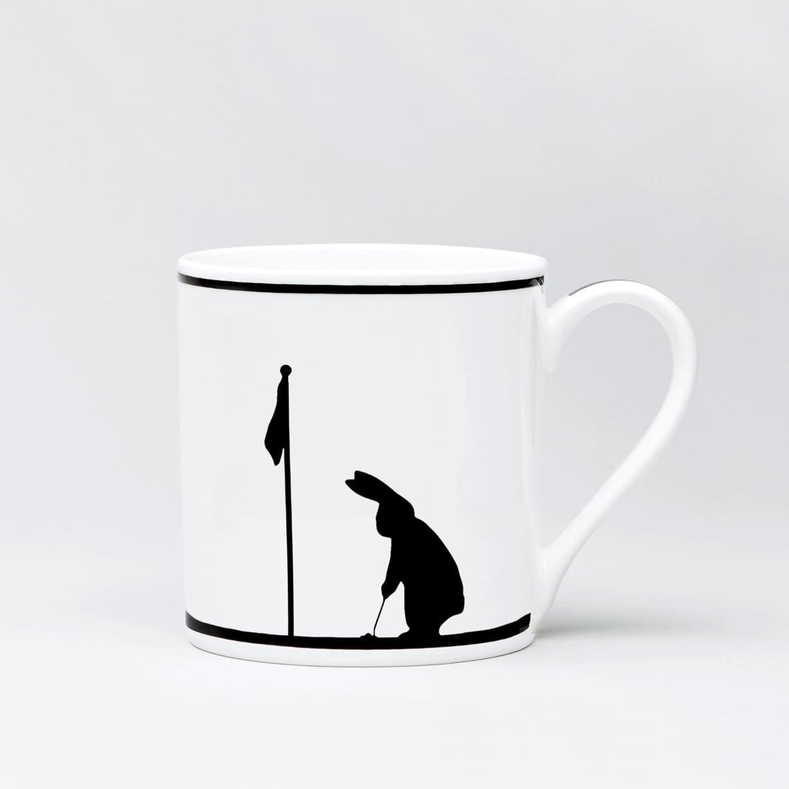 Golfing Rabbit Mug