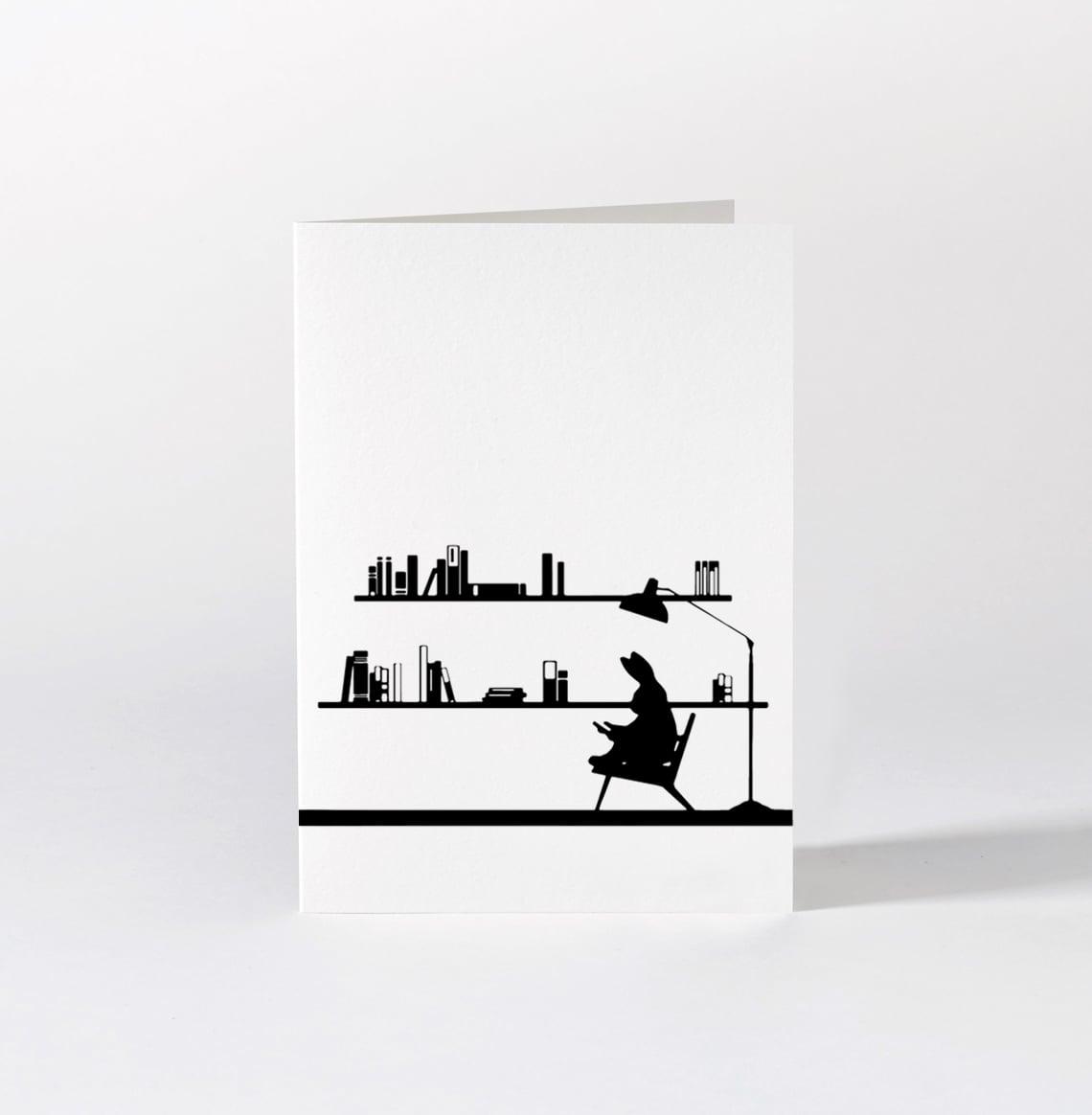 Reading Rabbit Card