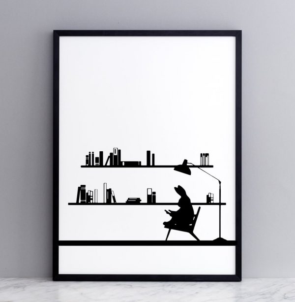 ham-reading-rabbit-print