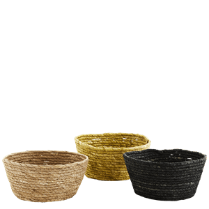 Set of 3 Colour Corn Baskets