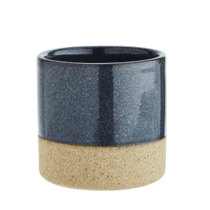 Blue Top Ceramic Flower Pot