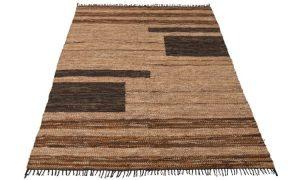 Ethnic Leather Rug