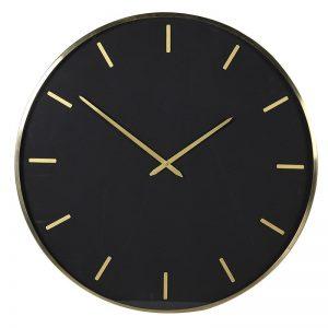 Black/Gold Wall Clock