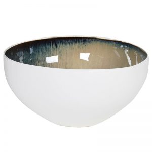 White Large Serving Bowl