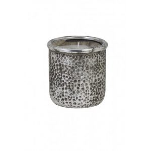 Large Decorative Pot with Candle