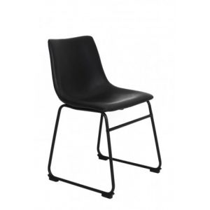 Jeddo Black Dining Chair
