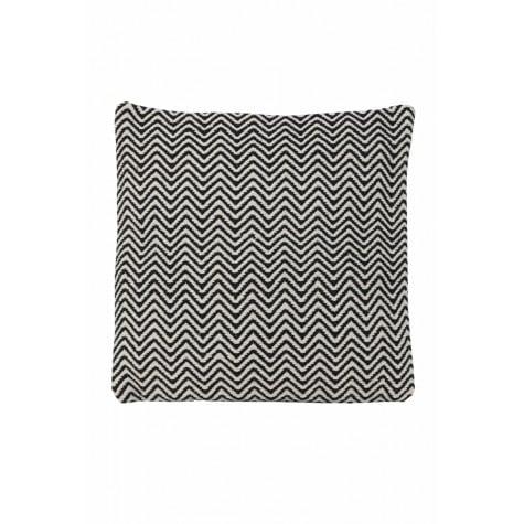 Black & Grey Zig Zag Cushion