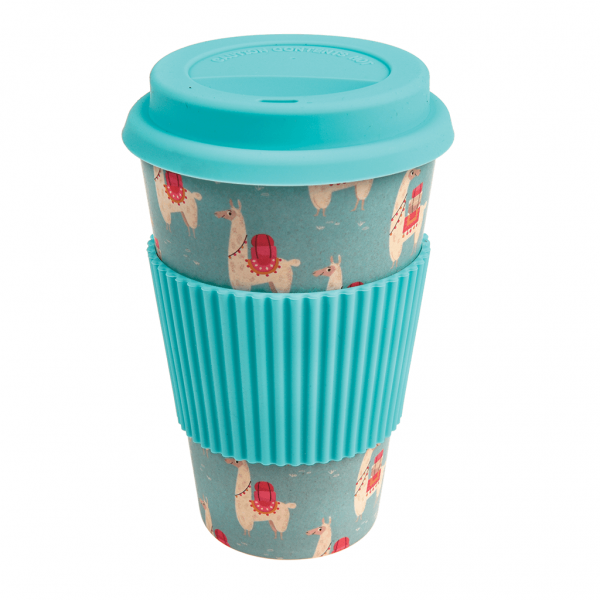 Dolly Llama Bamboo Travel Mug
