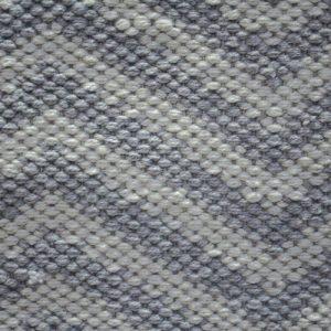 Grey Zig Zag Outdoor Rug