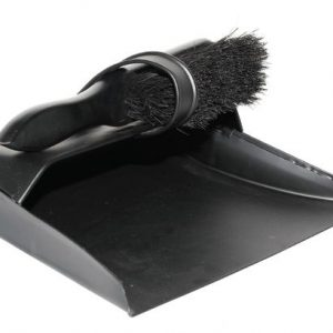 Black Brush & Dust Pan Set