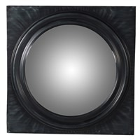 Black Square Wall Mirror