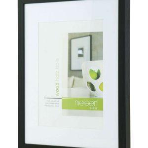 Apollo Black Wood 30cm x 40cm Frame