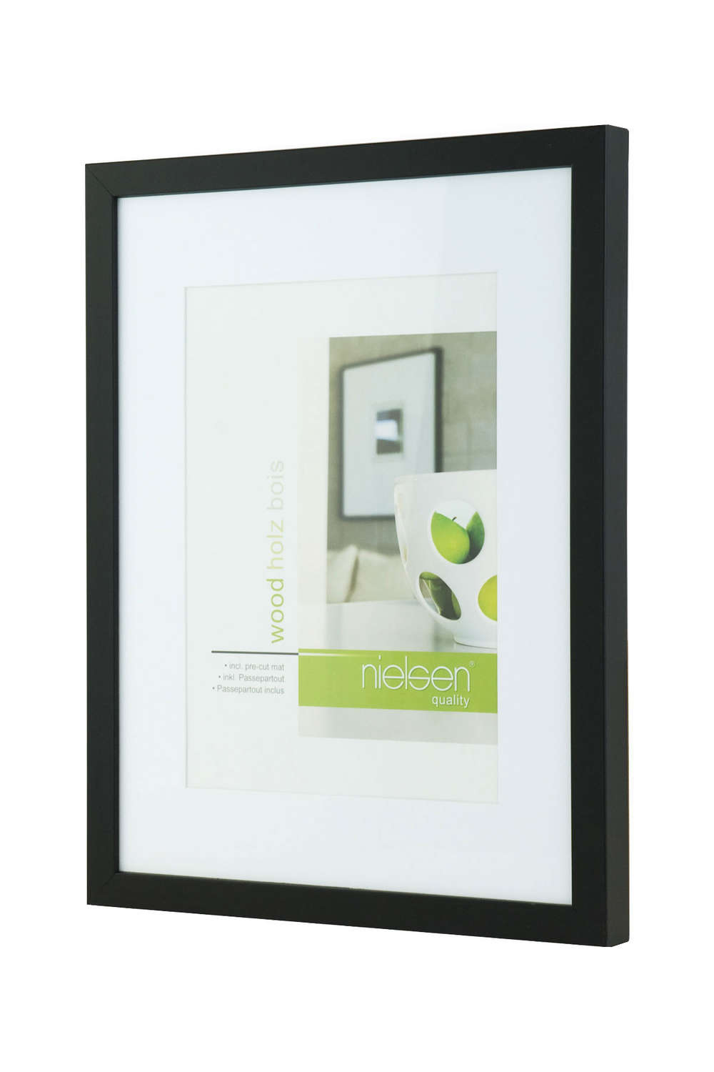 Apollo Black Wood 30cm x 40cm Frame