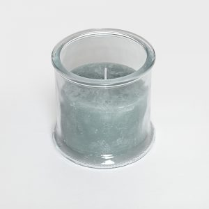 Small Eucalyptus Candle in Glass Holder