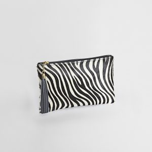 Zebra Print Hide 2 Way Bag