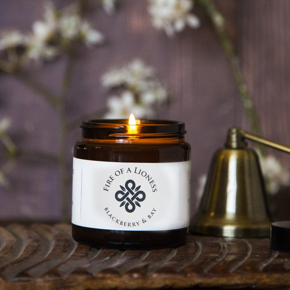Fire of a Lioness Scented Candle - Collective Home Store