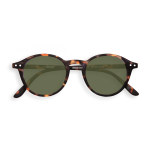 Izipizi #D Sunglasses Tortoise Green Lenses