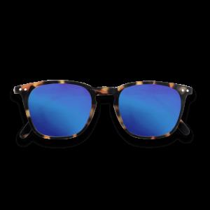 Izipizi # E Sunglasses Tortoise Mirror Lenses