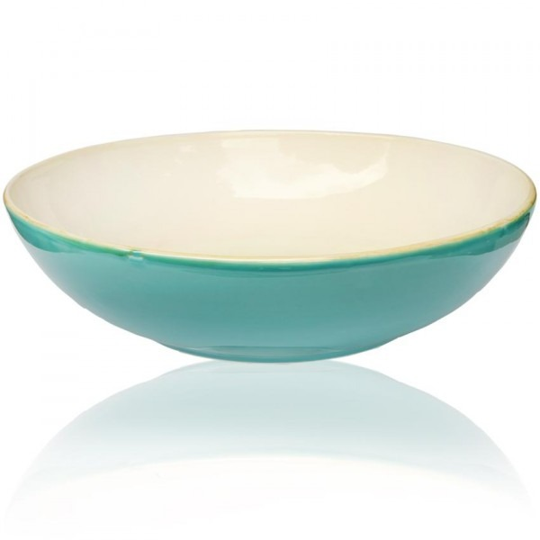 Turquoise Soup Bowl