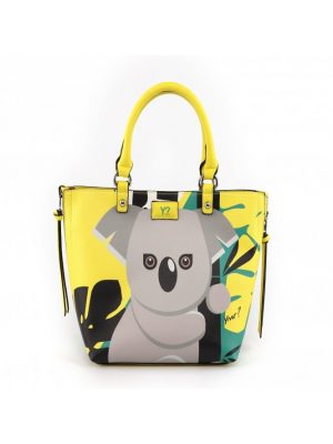 Y Not Jungle Monkey Shopping Bag