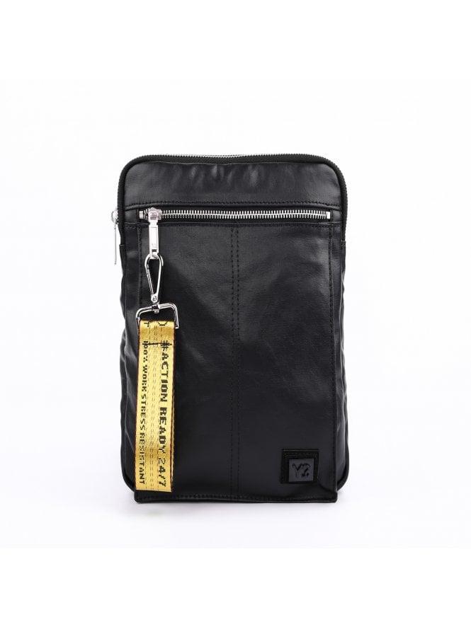 Y Not Wax Biz Unisex Black Shoulder Bag