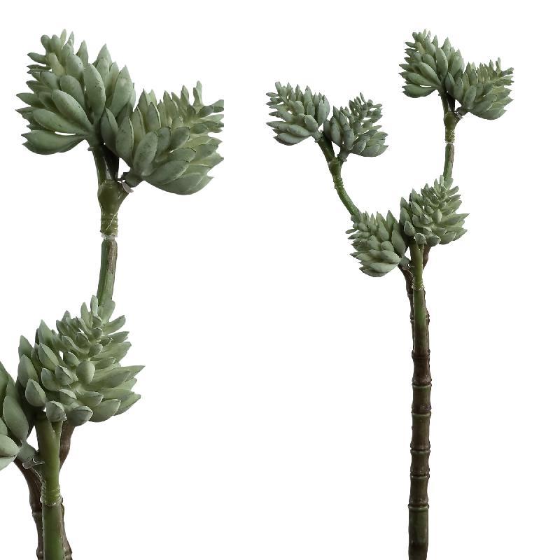 Succulent Faux Grey Foliage Plant
