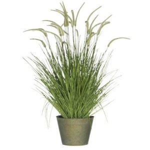 Faux Green Grasses Large
