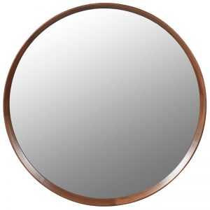Large Wood Framed Mirror