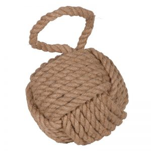 Natural Rope Door Stop