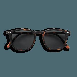 Izipizi # E Sunglasses Tortoise Grey Lenses