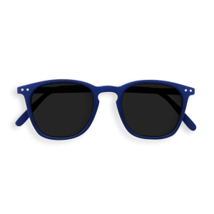 Izipizi #E Sunglasses Navy Blue with Soft Grey Lenses