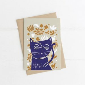 Henri Catisse Greetings Card